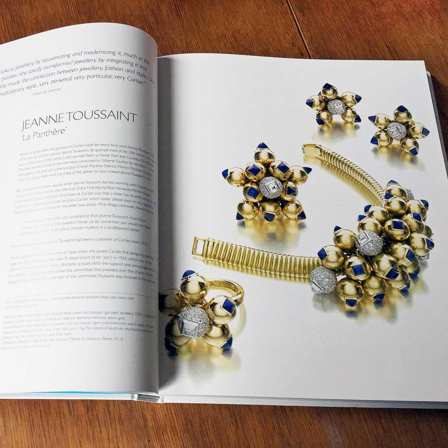 Women Jewellery Designers book Jeanne-Toussiant