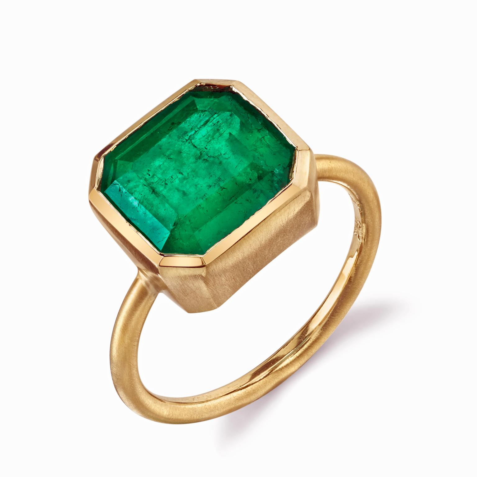 Irene Neuwirth emerald ring