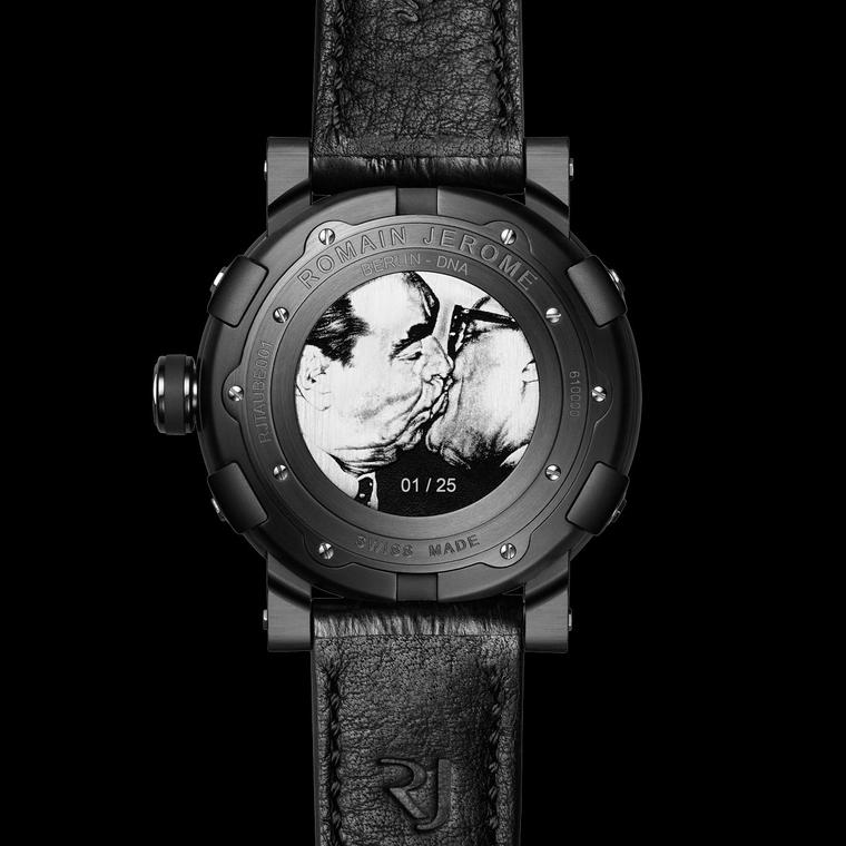 Romain Jerome Berlin-DNA watch - caseback