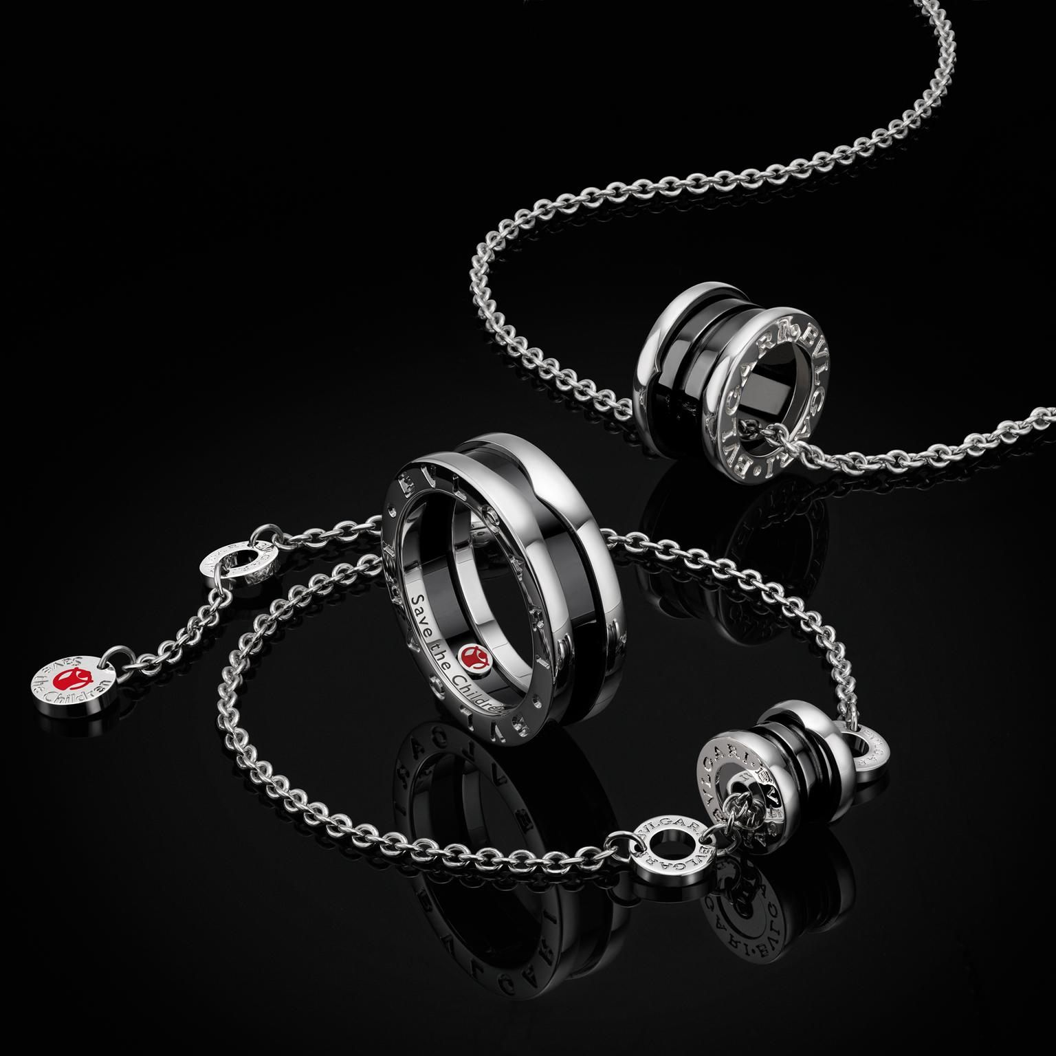 Bulgari silver jewels for Save the Children