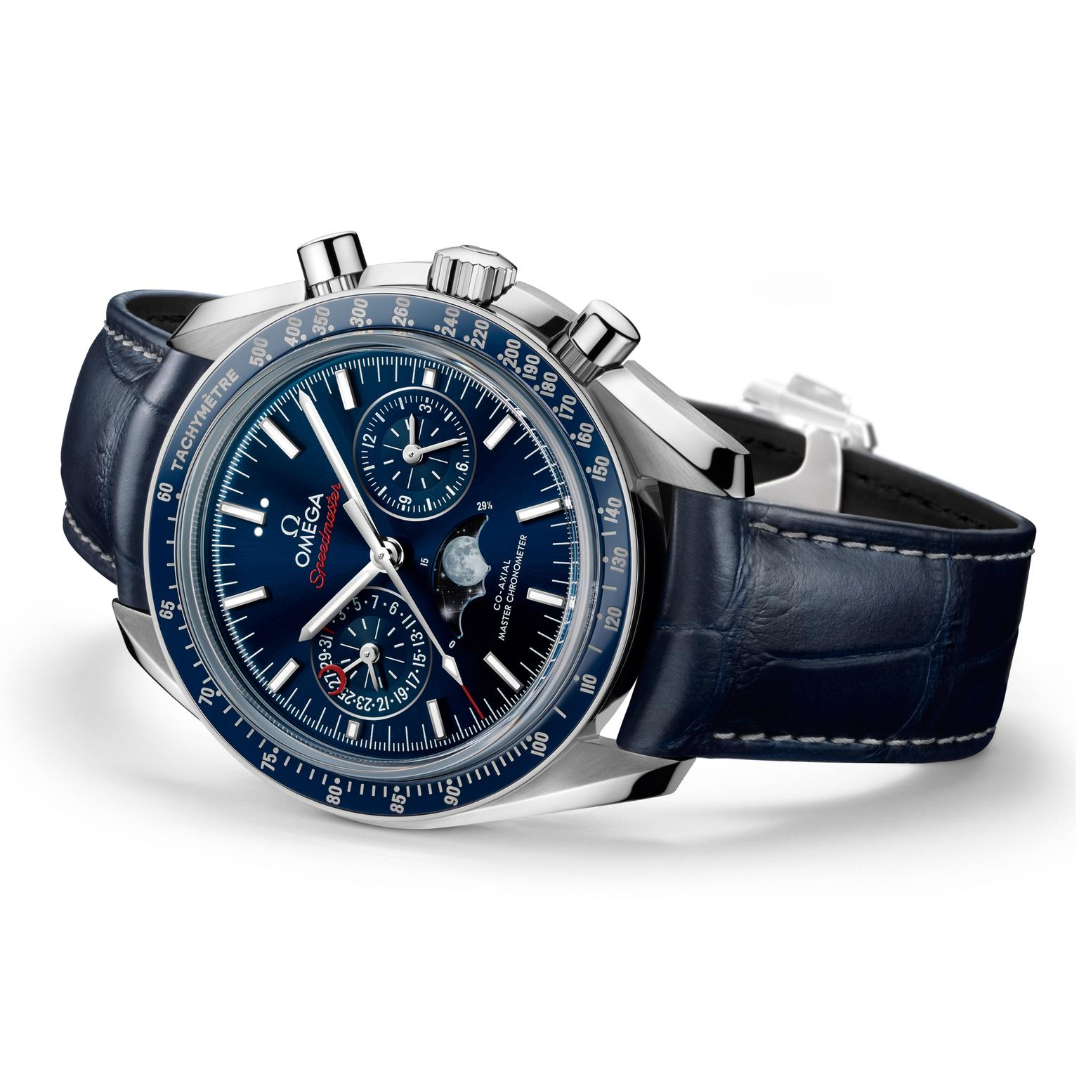 Omega Speedmaster Chronograph Master Moonphase watch