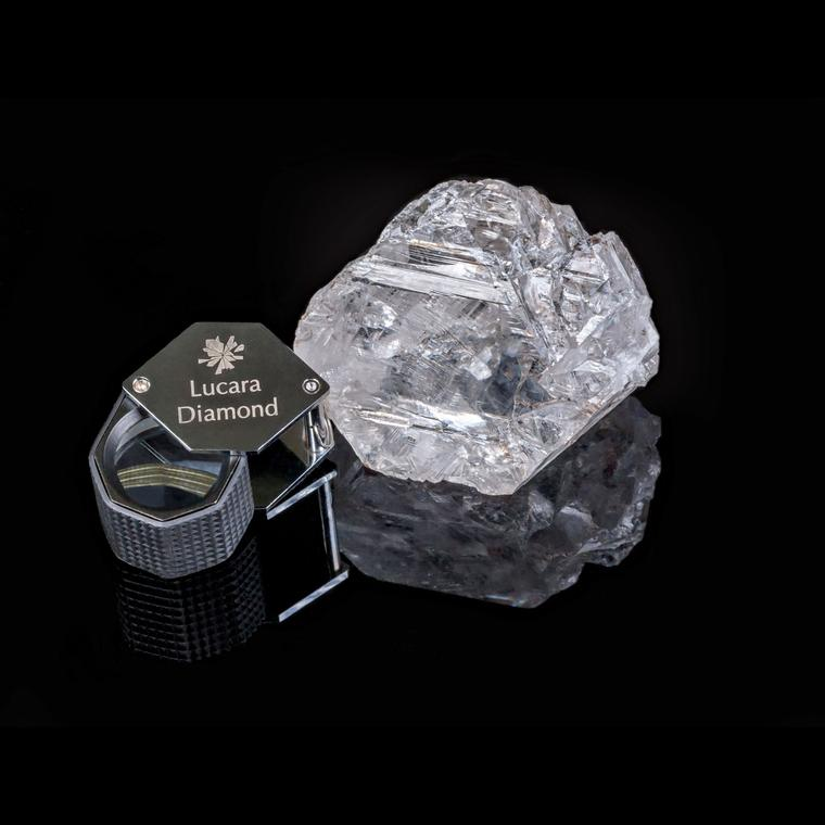 Lucara 1,111 carat Karowe AK6 rough diamond
