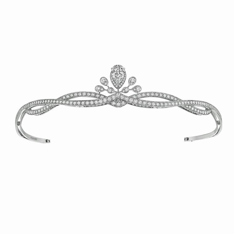 Chaumet Joséphine white gold and diamond tiara