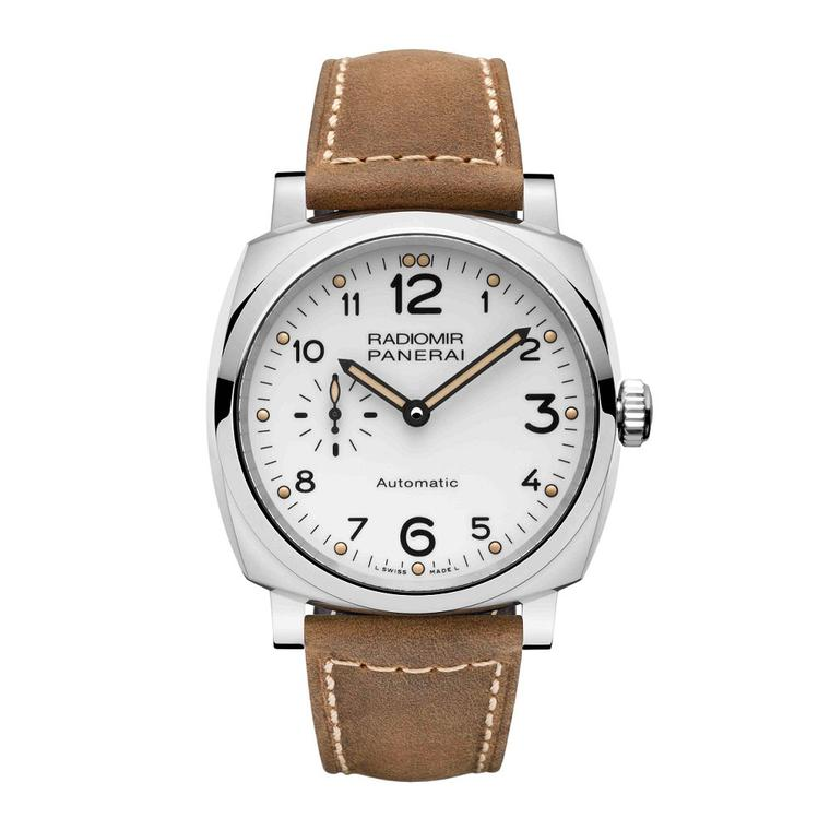 Panerai Radiomir Automatic 1940 white dial watch