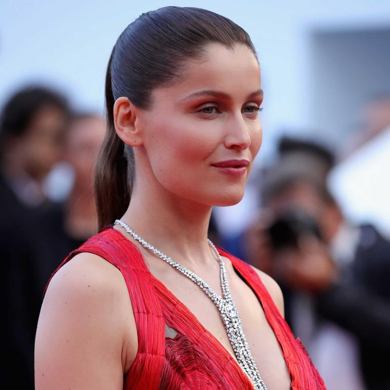 Laetitia Casta wearing Boucheron necklace at Cannes Film Festival