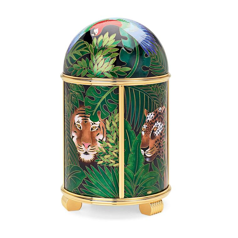 Patek Philippe Dome Jungle clock