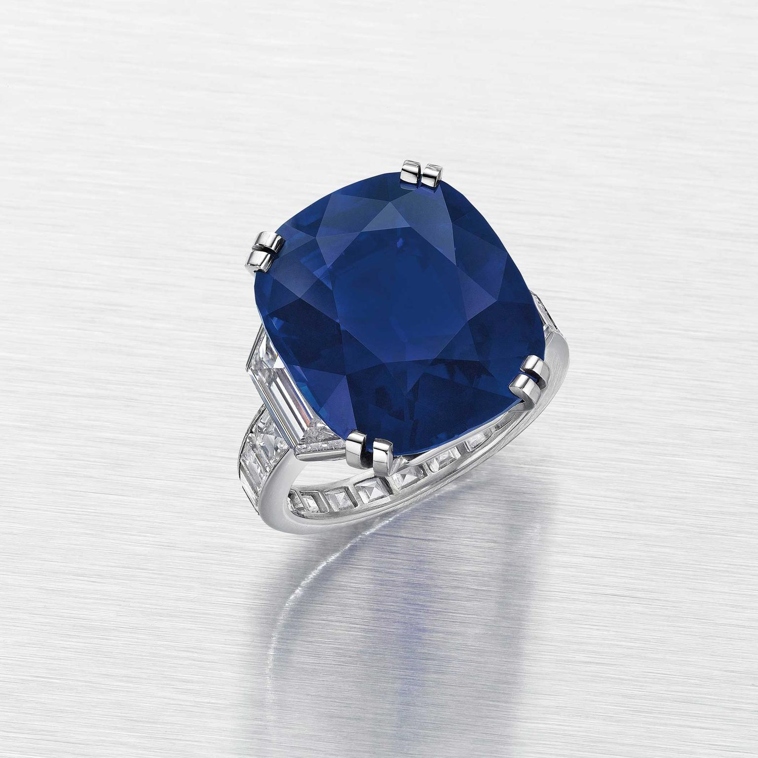 Christies NY The Kelly Sapphire by Cartier