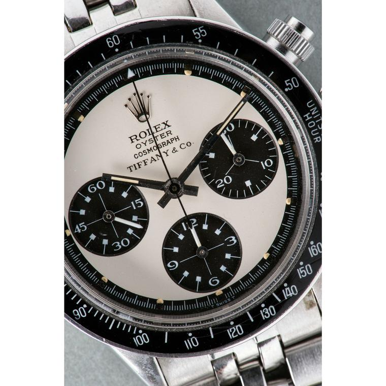 Rolex Paul Newman Panda Daytona watch