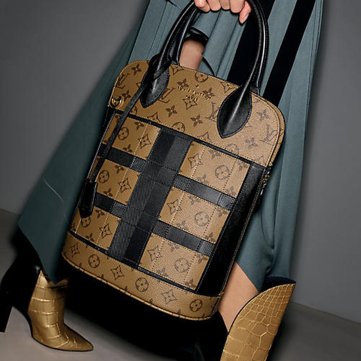 Louis Vuitton Tressage Tote bag in Monogram Reverse canvas