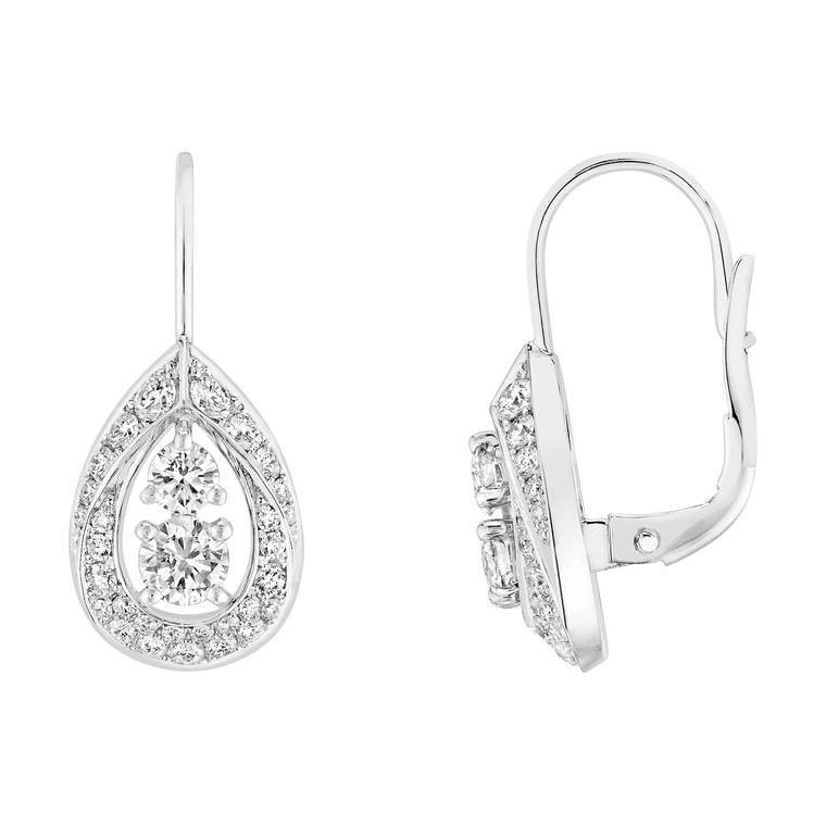 Joséphine Rondes de Nuit diamond drop earrings