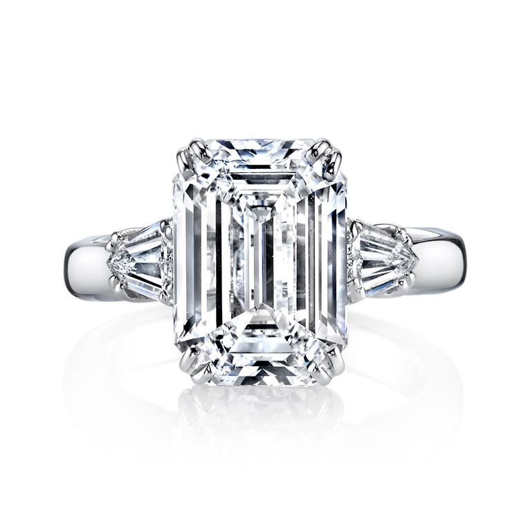 the top five most popular engagement ring shapes the
