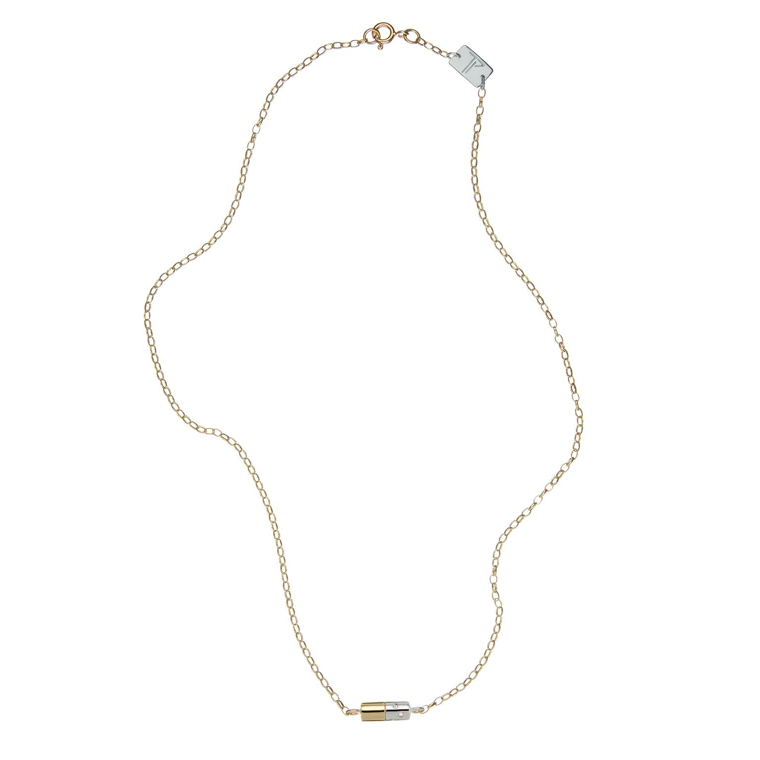 Tessa Packard Diet Pill necklace