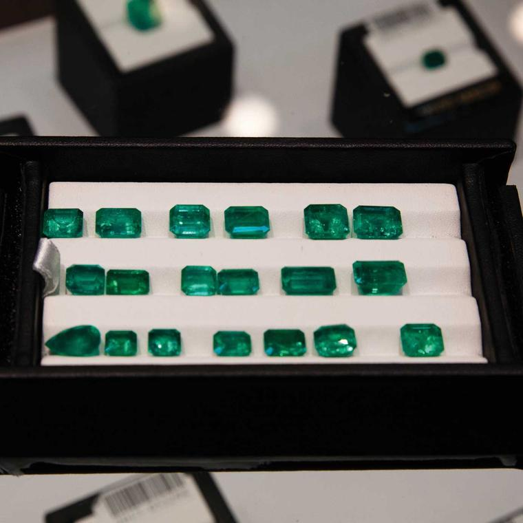 Colombian emeralds for sale in Thailand