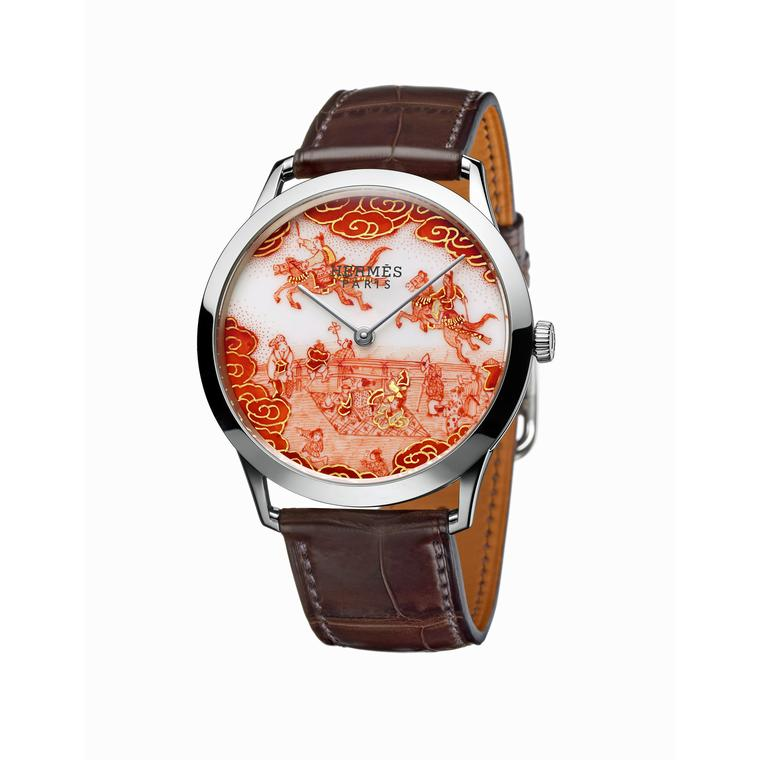 Slim d'Hermès Koma Kurabe watch