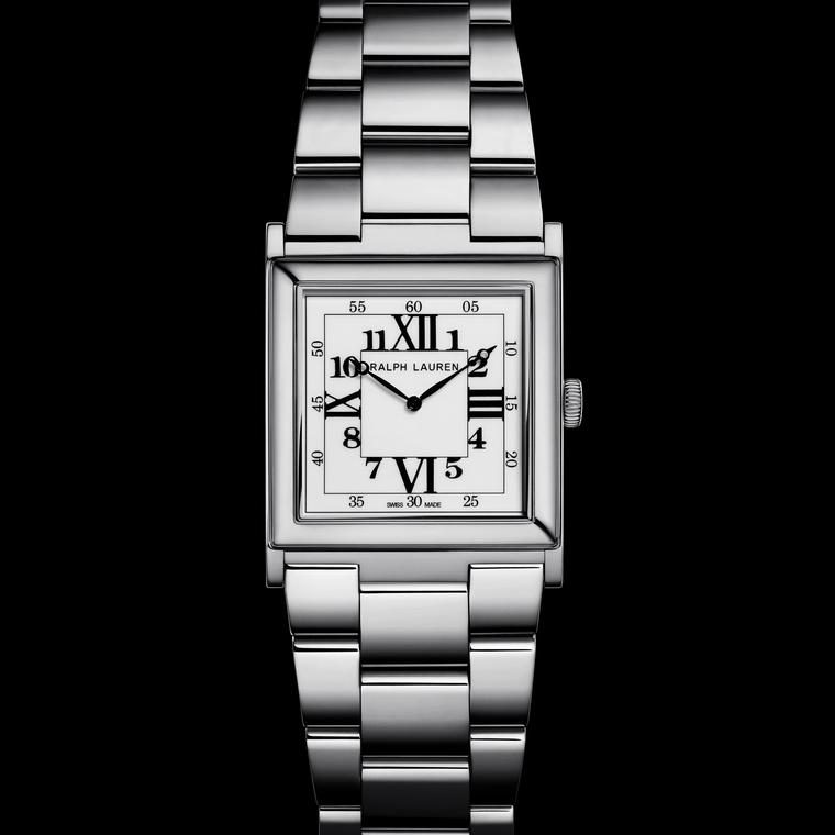 Ralph Lauren Small White Gold 867 men's watch