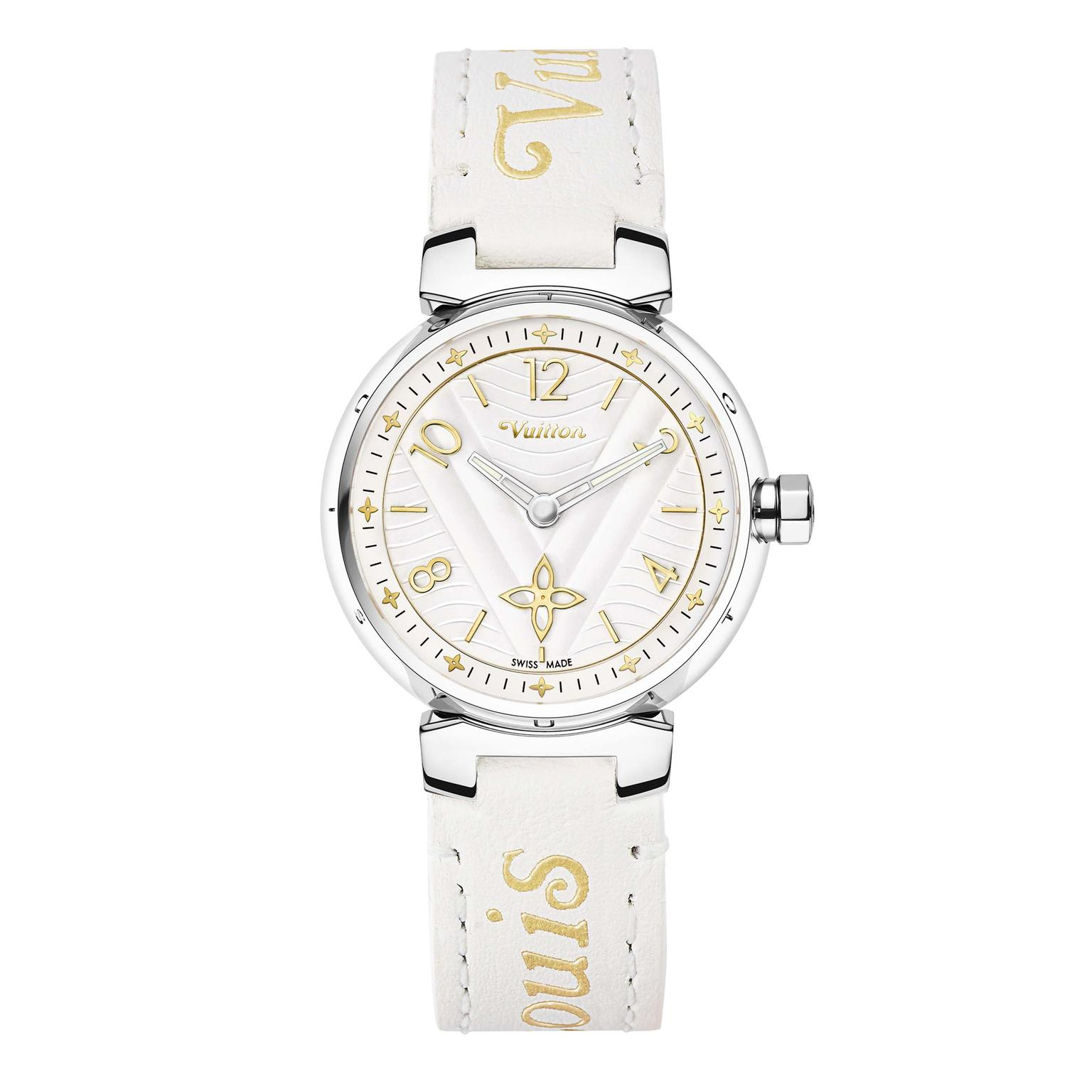 Louis Vuitton Tambour New Wave 28 mm watch