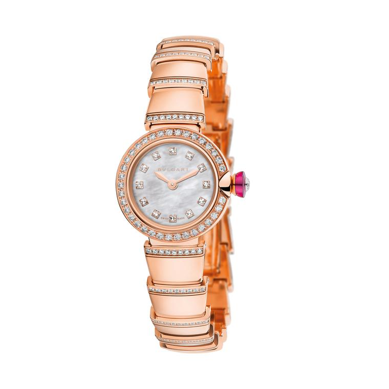Piccola Lvcea watch in rose gold