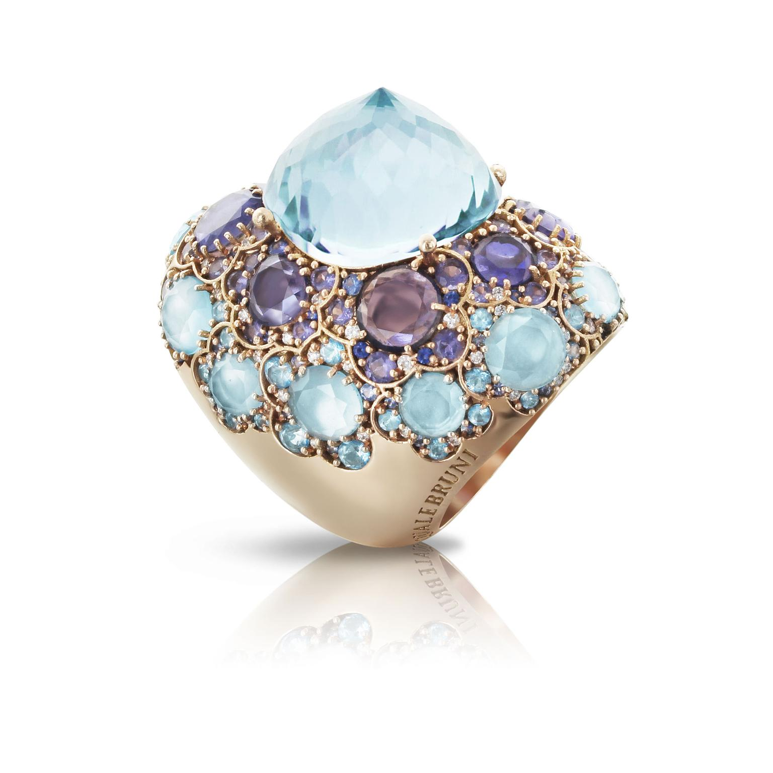Pasquale Bruni Lady Taj blue topaz ring