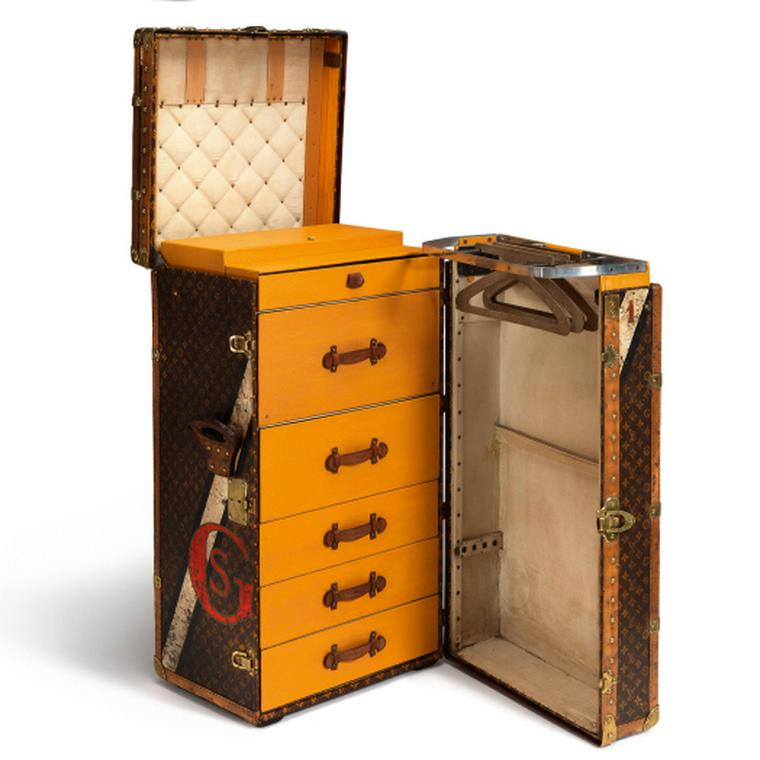 Louis Vuitton Monogram canvas wardrobe trunk
