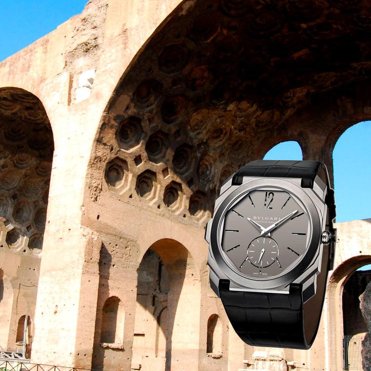 New Octo watches fortify Bulgari's Roman empire
