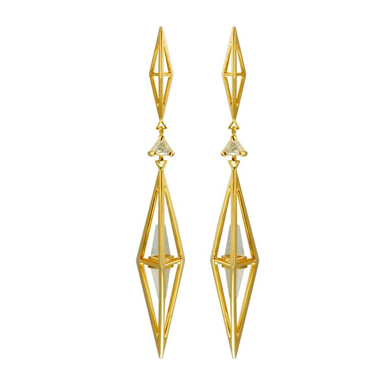 Kattri: perfect geometry from this exciting name in fine jewellery