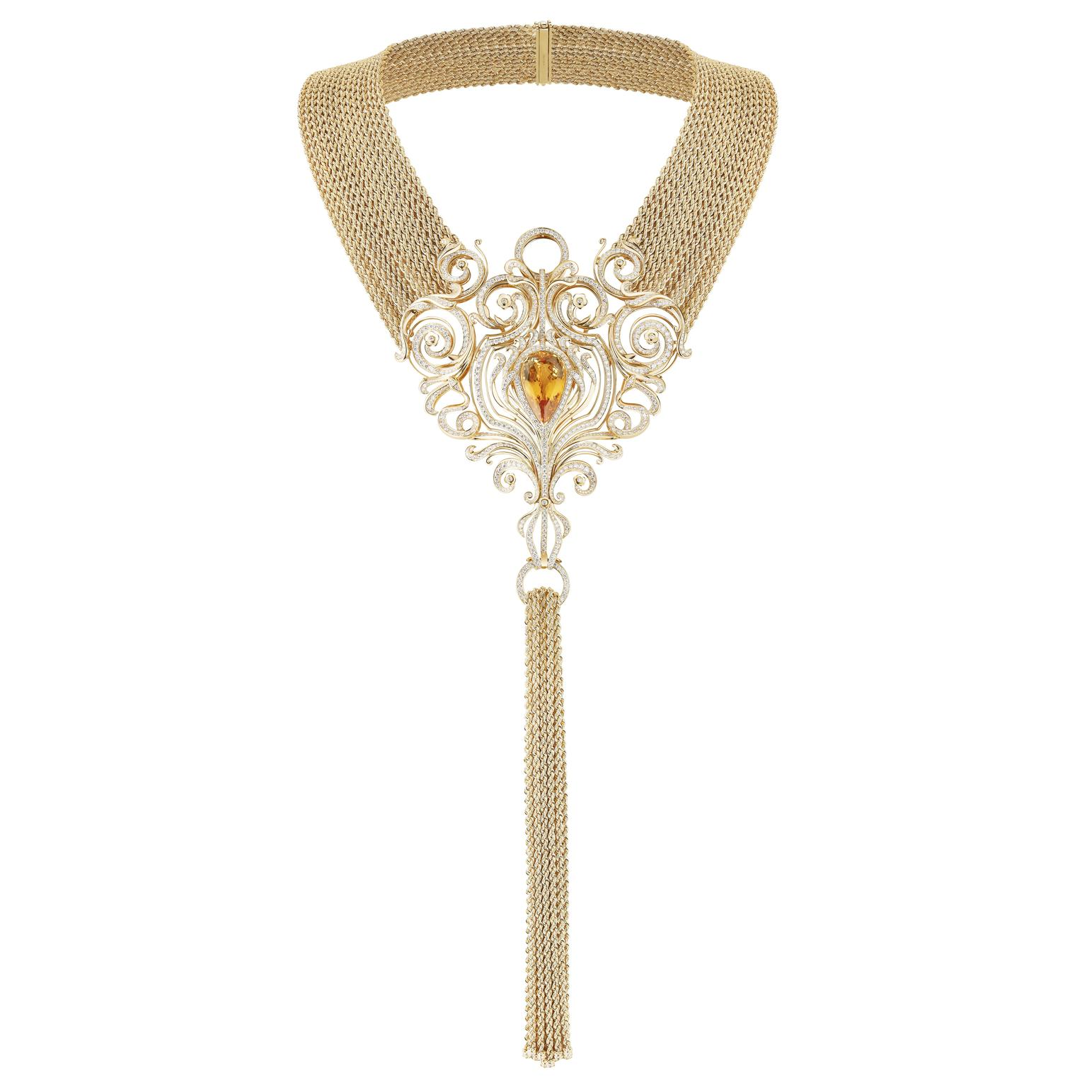 Boucheron Vu de 26 Armoire necklace