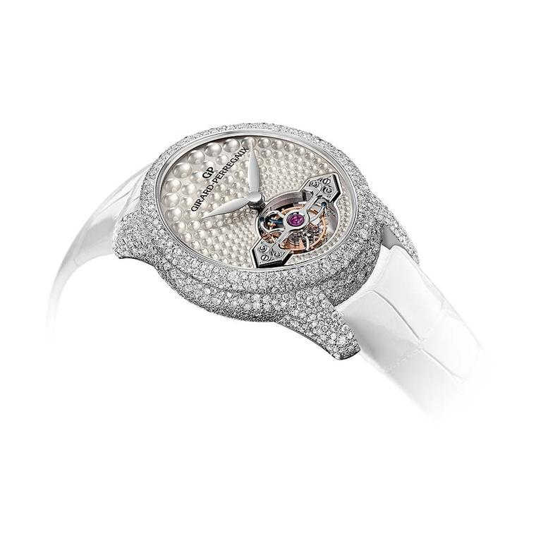 Girard-Perregaux Cat's Eye diamond watch