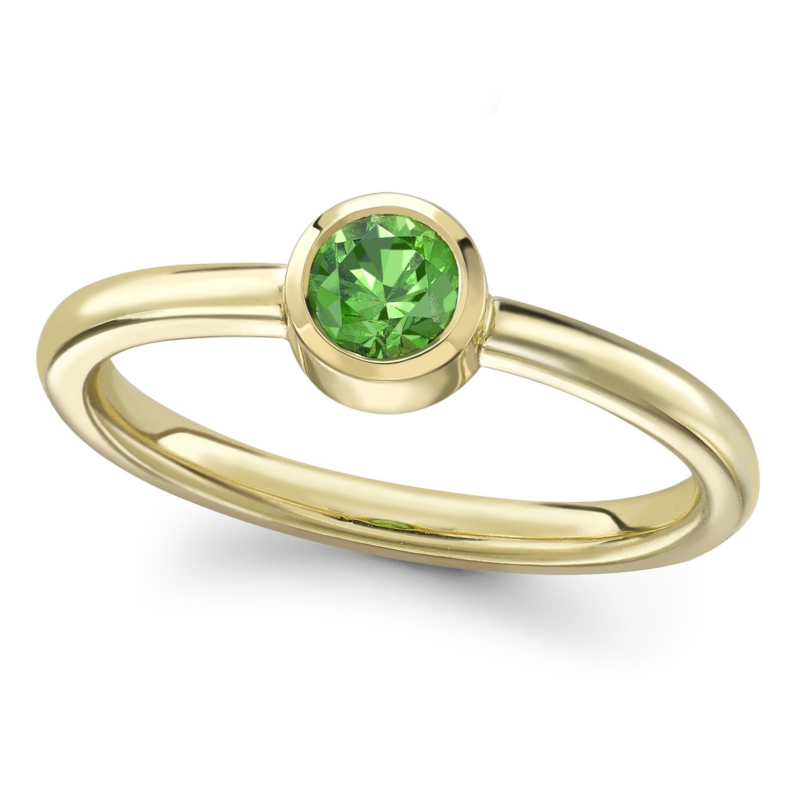 Theo Fennell Demantoid garnet ring