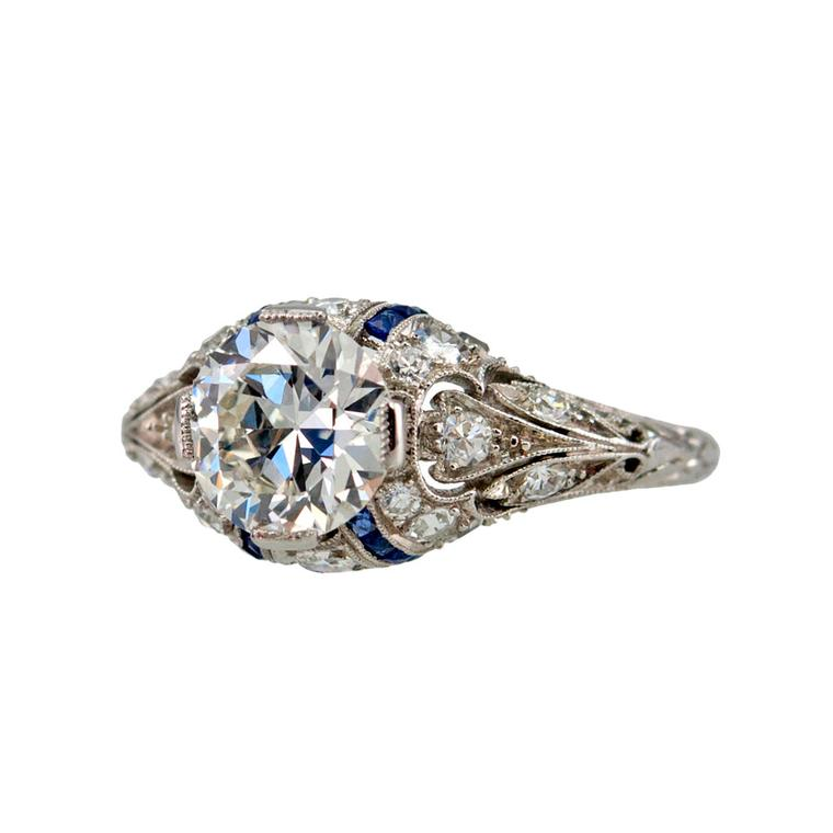 Craig Evan Small diamond ring