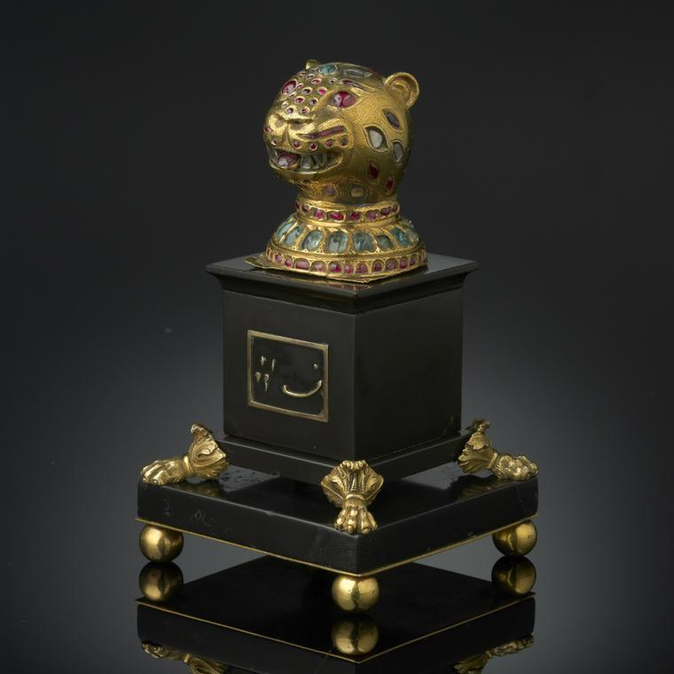 Gold finial from Tipu Sultan's throne 1790-1800