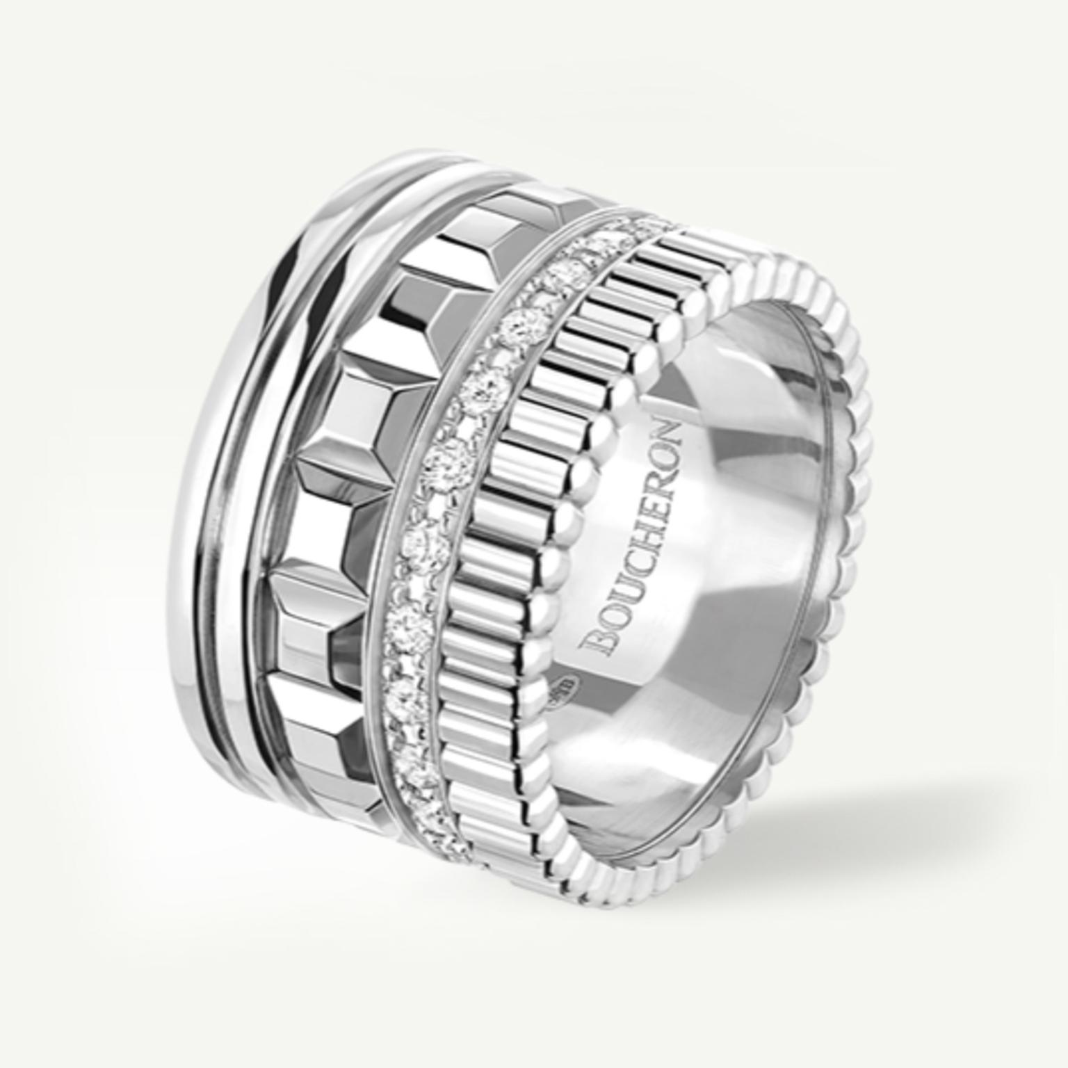 Boucheron Quatre Radiant Edition ring