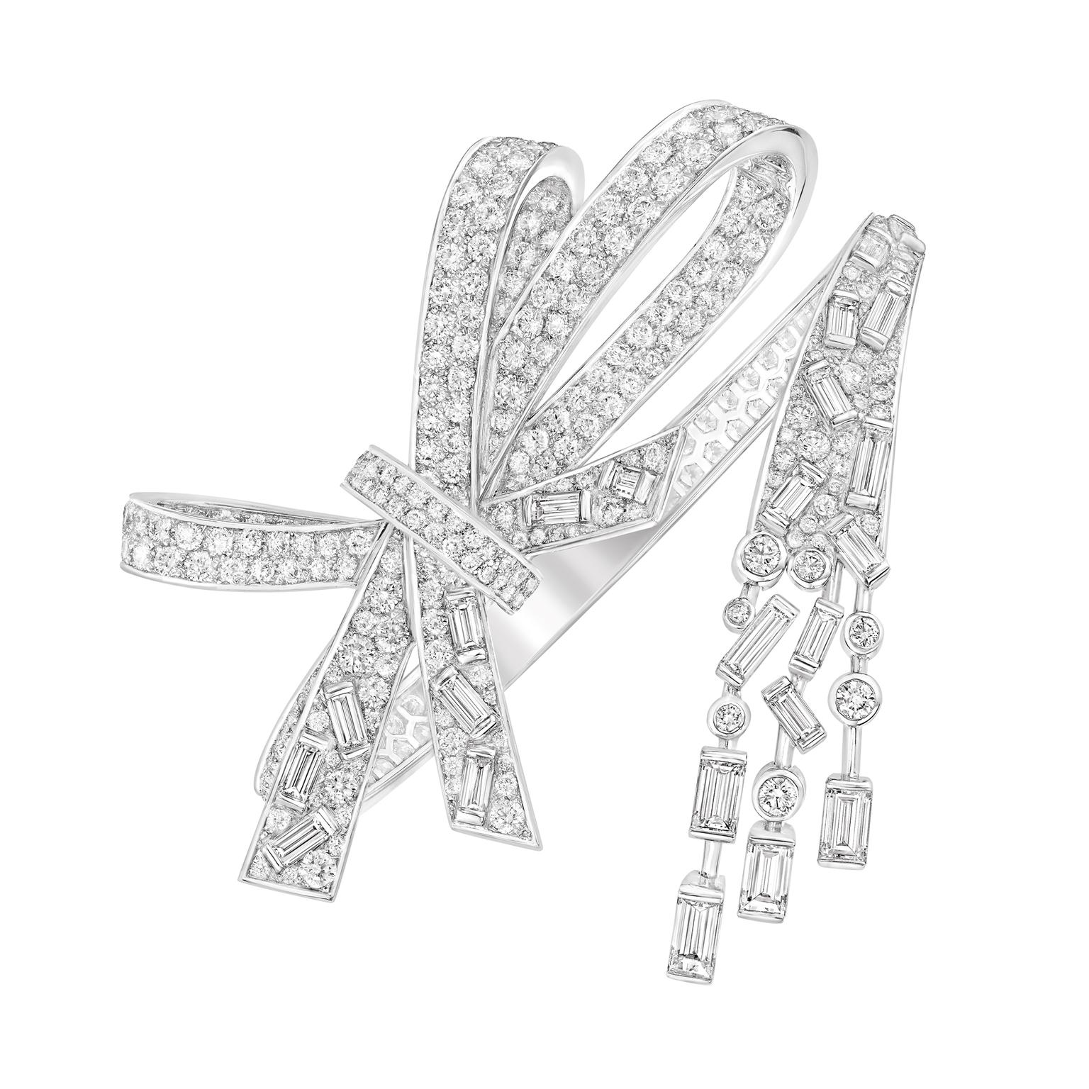 Chanel Les Intemporels Ruban Prestige baguette-cut diamond bracelet