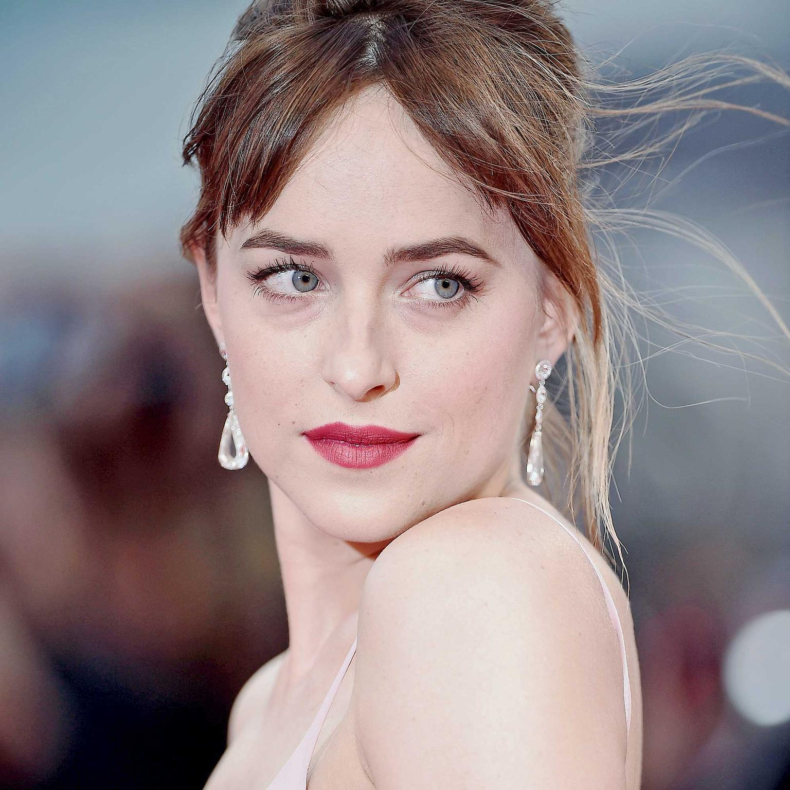 Dakota Johnson at the Black Mass premiere wearing Chopard