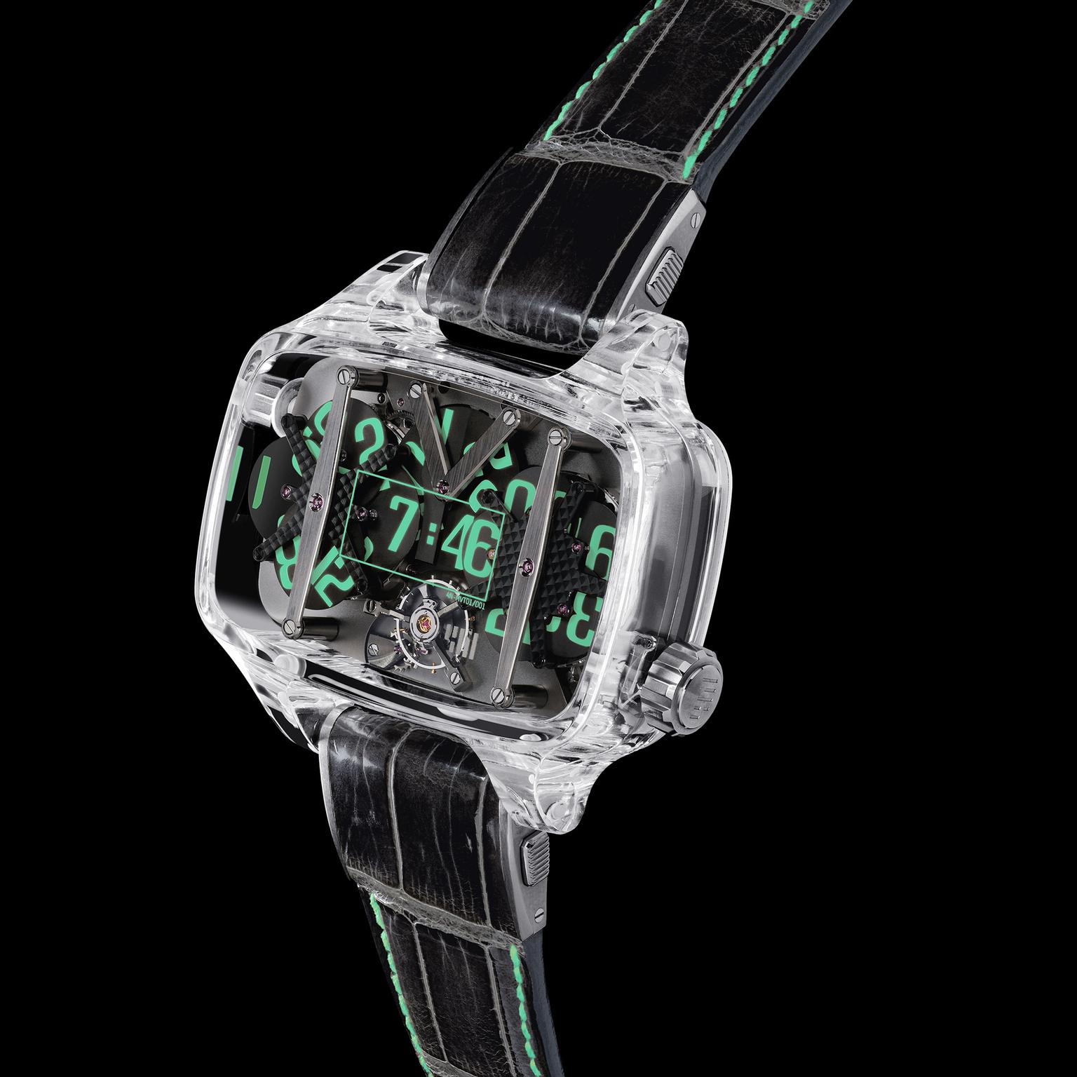 4N Sapphire Planet watch
