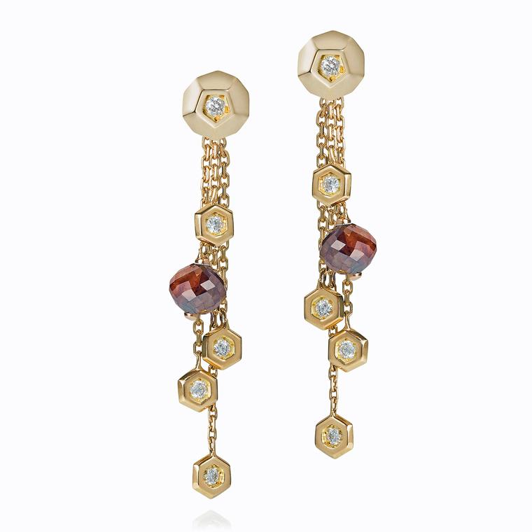 Ornella Iannuzzi Rock It! dangling earrings