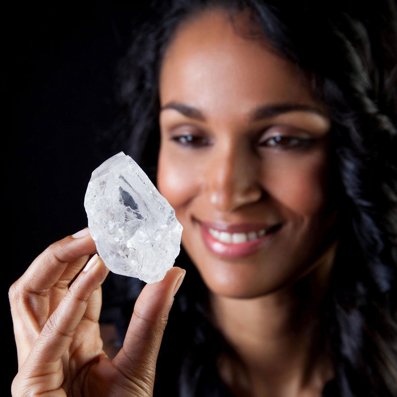 Lesedi La Rona rough diamond