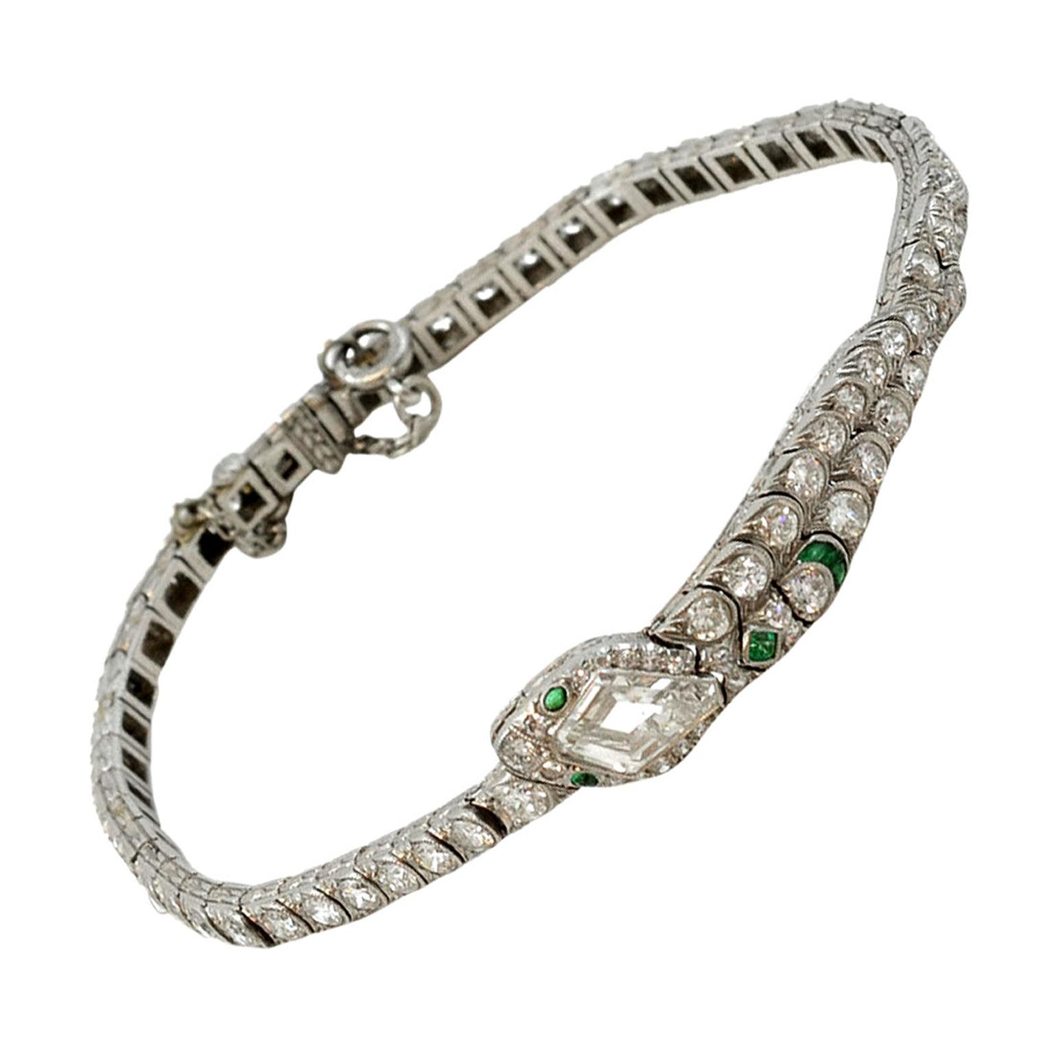 Sandra Cronan Belle Epoque diamond-set snake