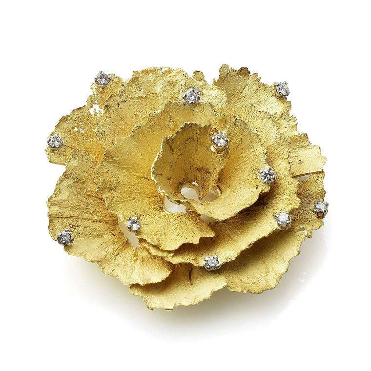 Andrew Grima pencil shavings brooch