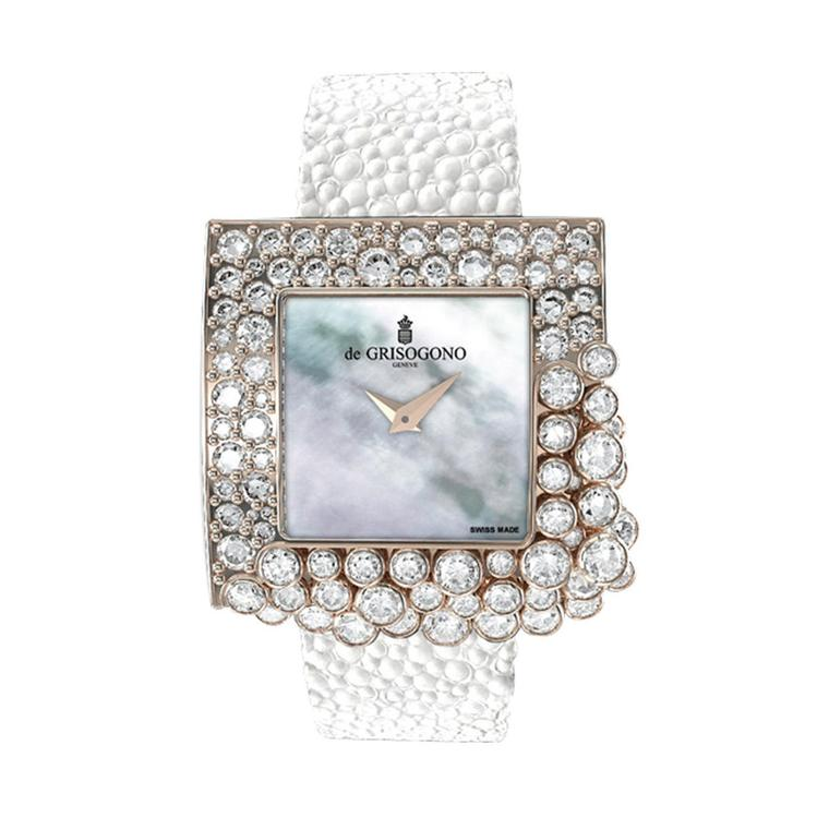 De Grisogono Sugar diamond watch