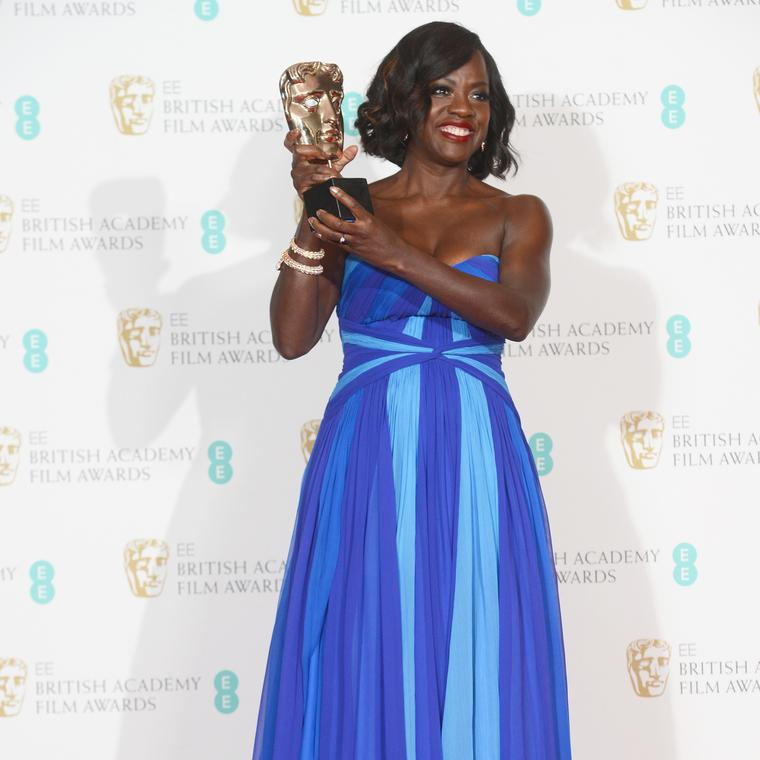Viola Davis wears Bulgari at the 2017 BAFTAs