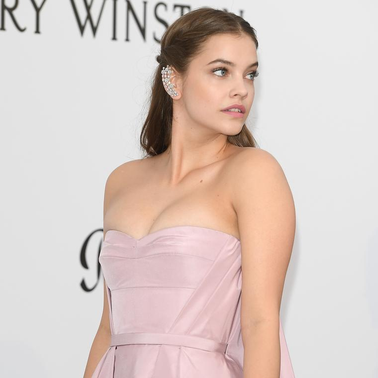 Barbara Palvin Cannes 2017 Messika earcuff
