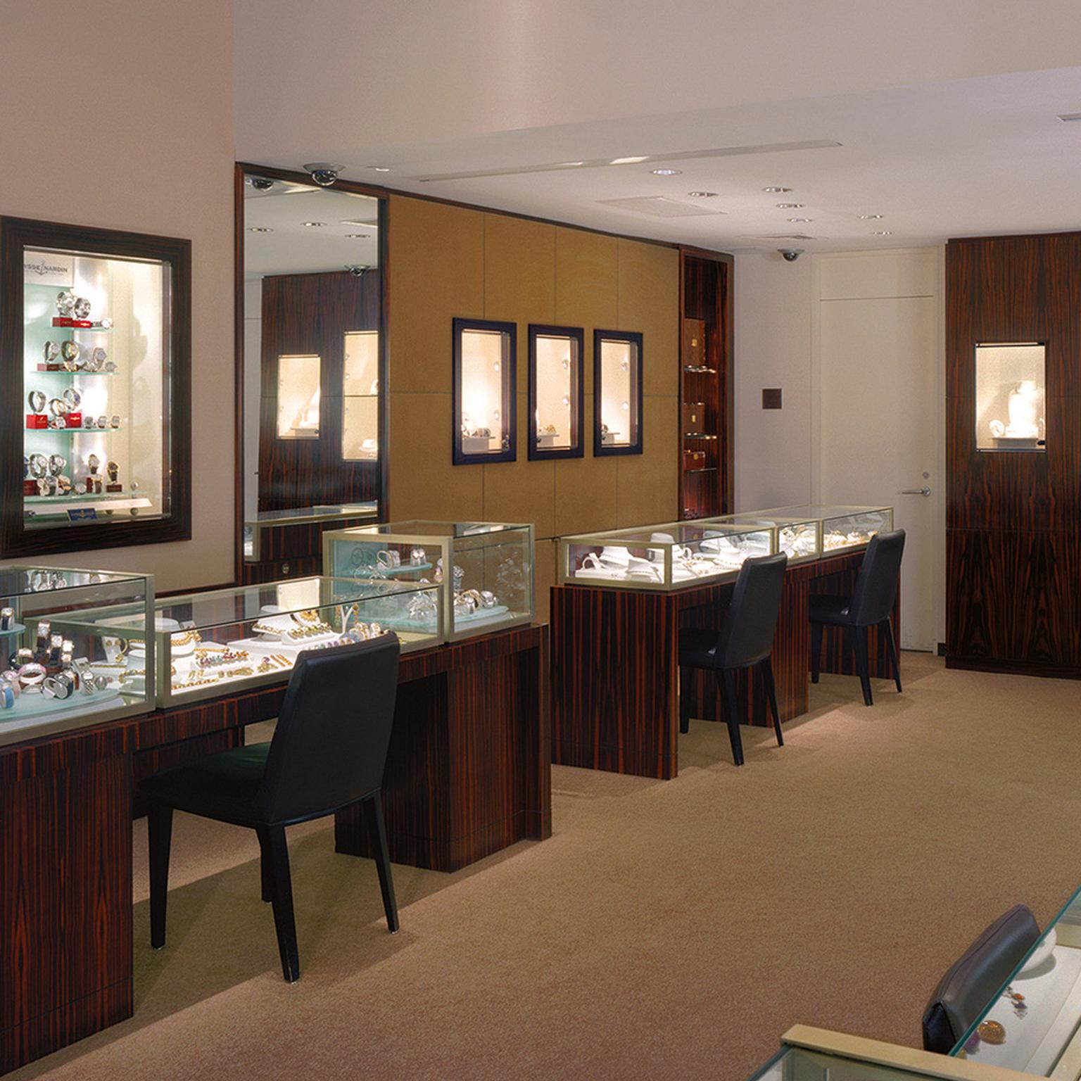 Cellini New York store interior