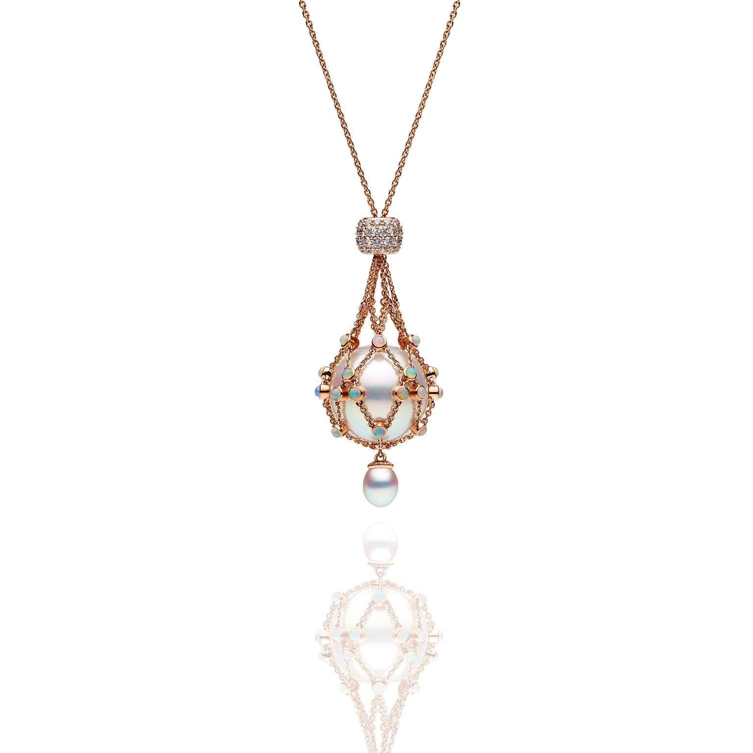 Paspaley rose gold Lavalier Opal Hero