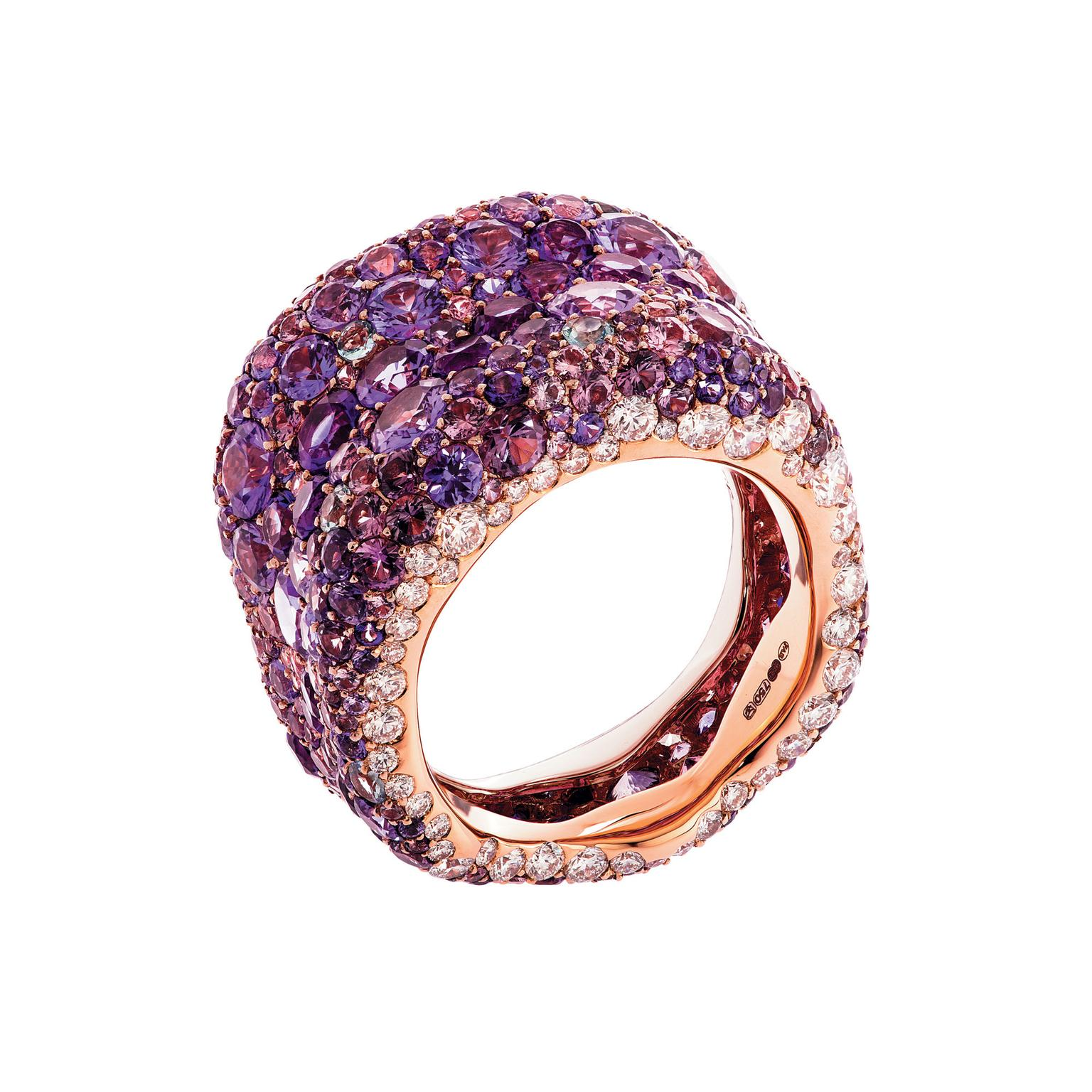 Fabergé Emotion Purple ring