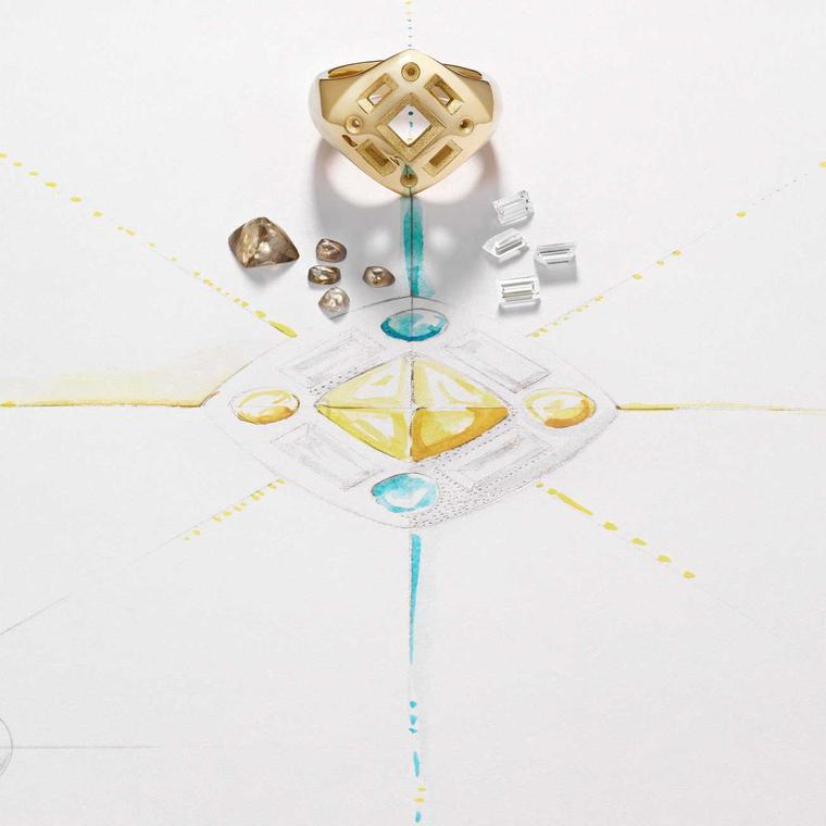 De Beers making of Talisman collection