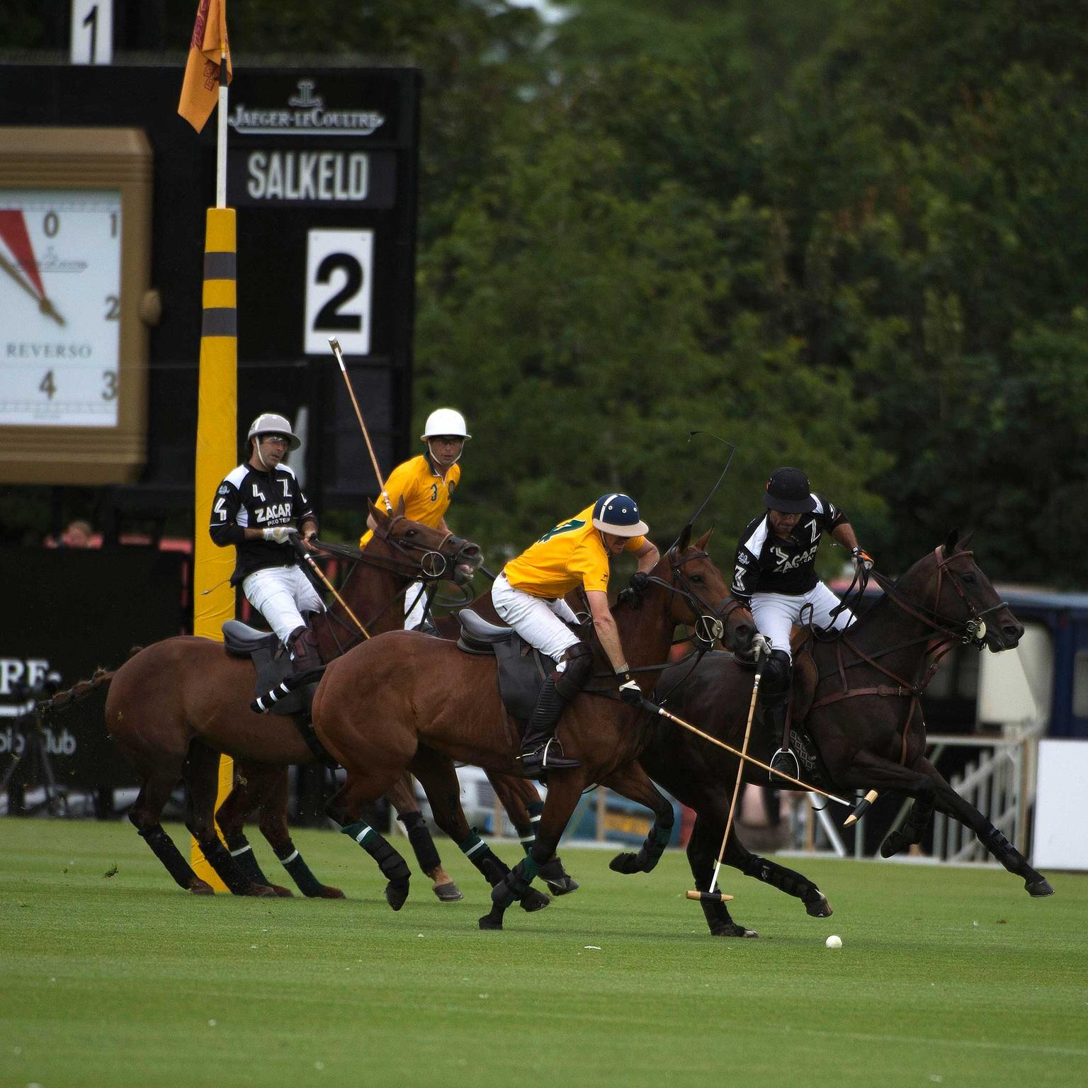 Luke Tomlinson defending Jaeger LeCoultre Gold Cup 2015 (copyright Vanessa Taylor)