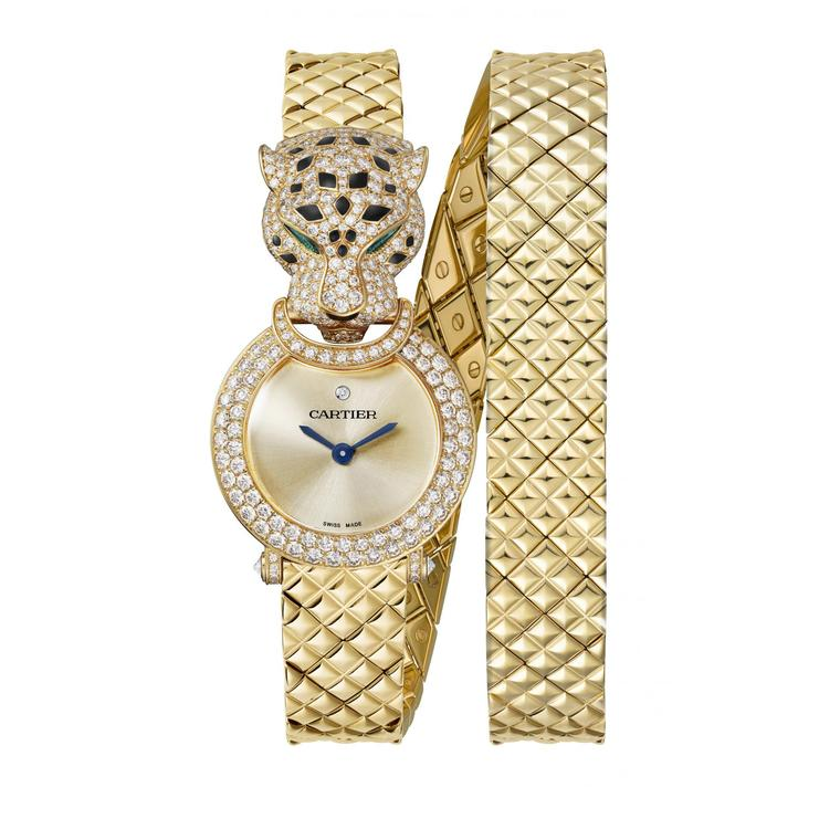 Panthere watch by Cartier