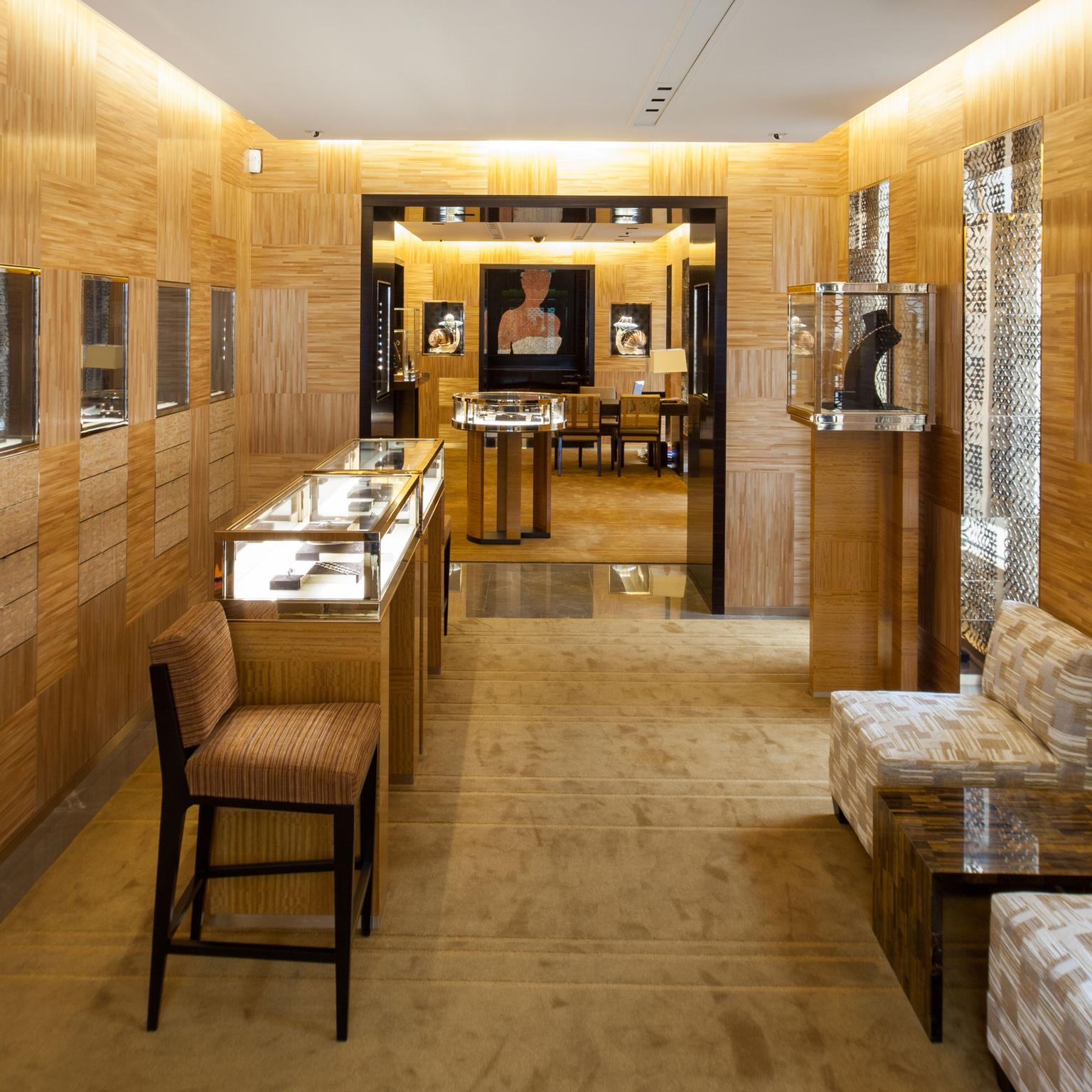 Louis Vuitton Paris Boutique showroom