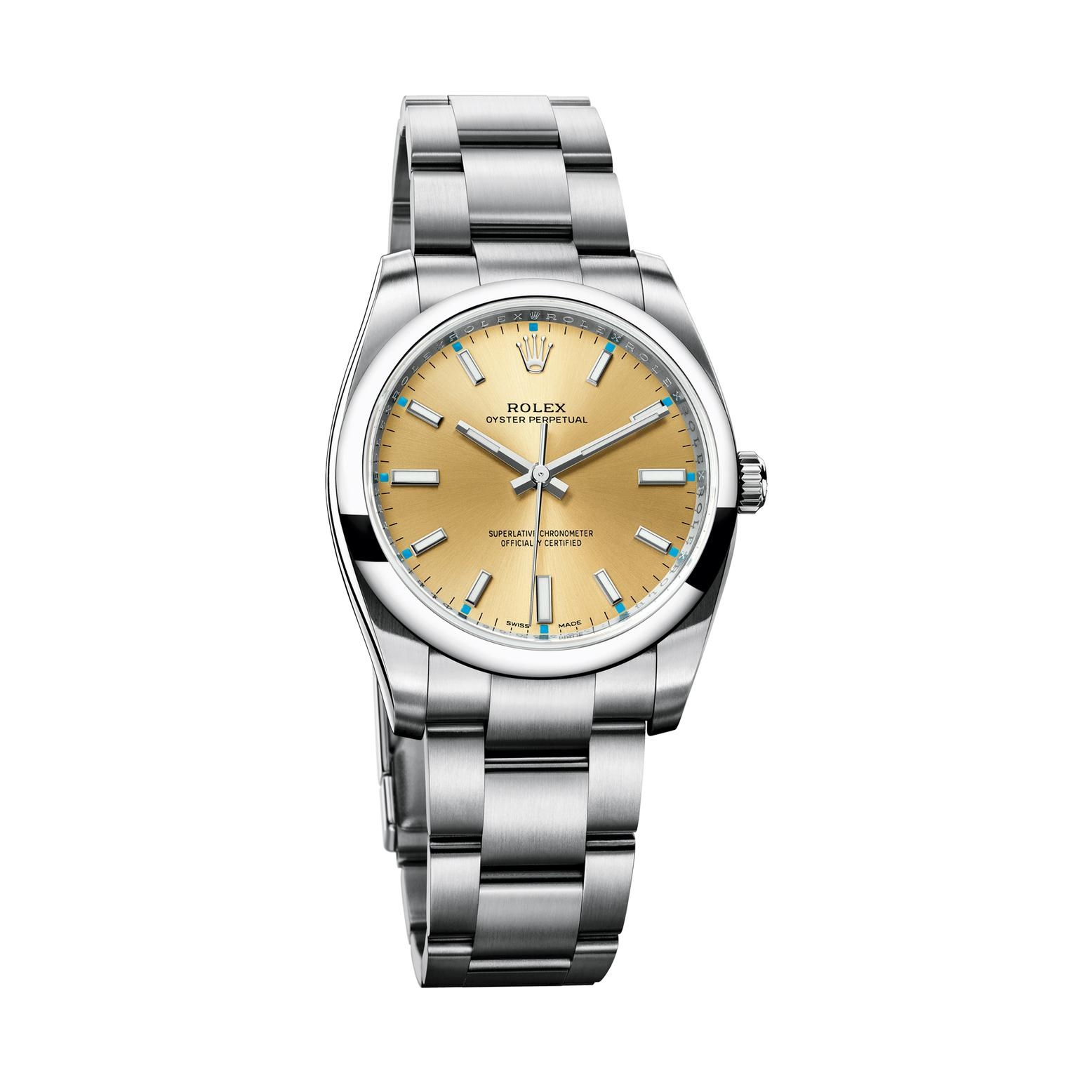 Rolex Oyster Perpetual 34mm watch