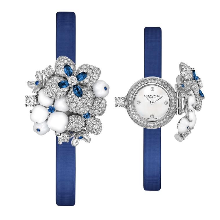 Hortensia Voie Lactée secret watch